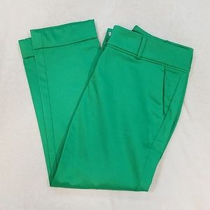 New York and Company green ankle pants